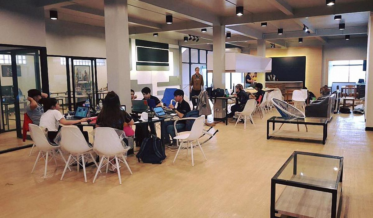 On the table: building a startup community in Vientiane's first co-working space