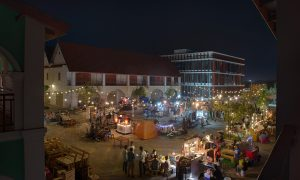 Fun after dark: Walking Street is bringing a quiet part of the Mekong riverbank to life