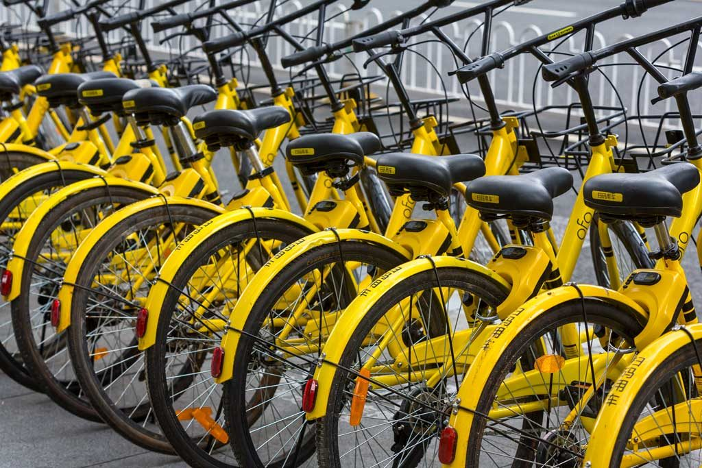 Bicycles in Kunming