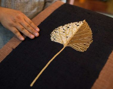 Embroidering the past