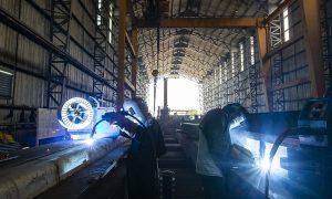 World Class Steel Fabrication in Laos